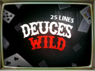 Deuces Wild 25 Lines